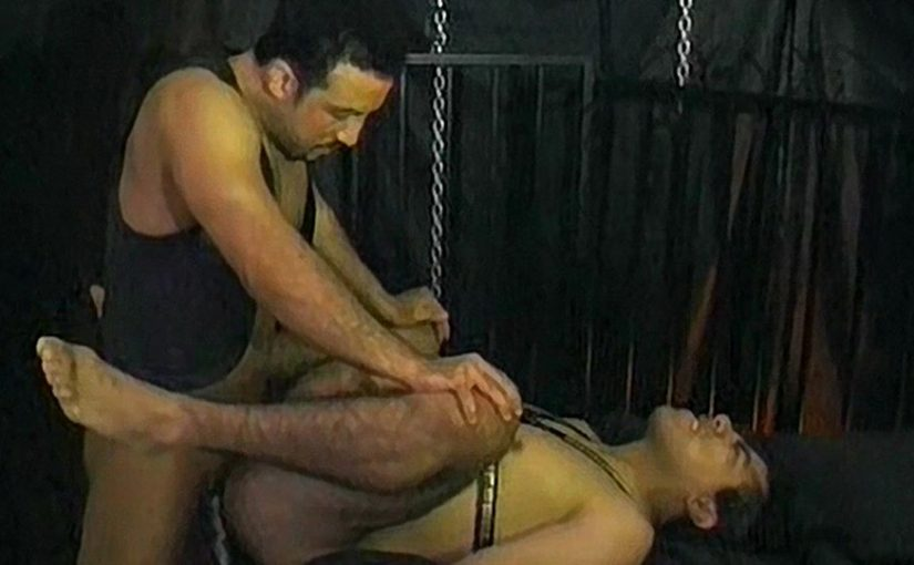 Latino Leather & Cock Ring Fetish Fuck – Anthony Lopez & Gabriel Rocas