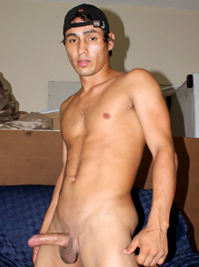 Latino gay sex performer Agustin